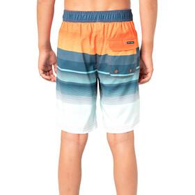 Rip Curl Sunset Eclipse S/E Boardshorts Boys, azul/naranja